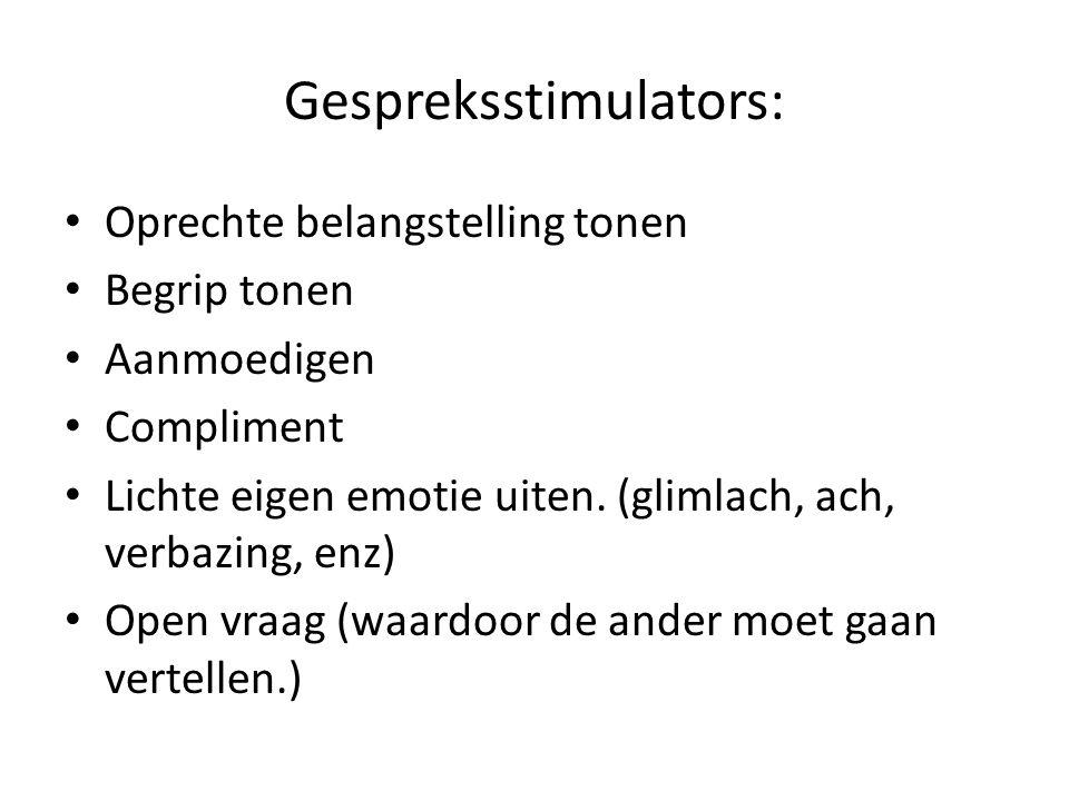 Gespreksstimulators: