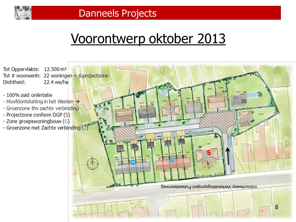 Voorontwerp oktober 2013 Danneels Projects Z S G G