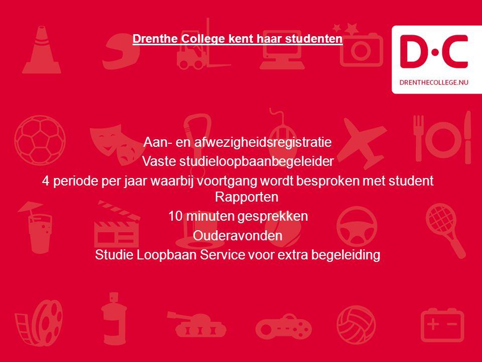 Drenthe College kent haar studenten