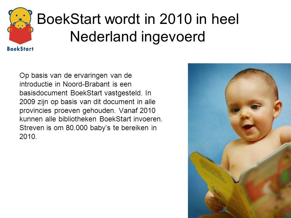 BoekStart wordt in 2010 in heel Nederland ingevoerd