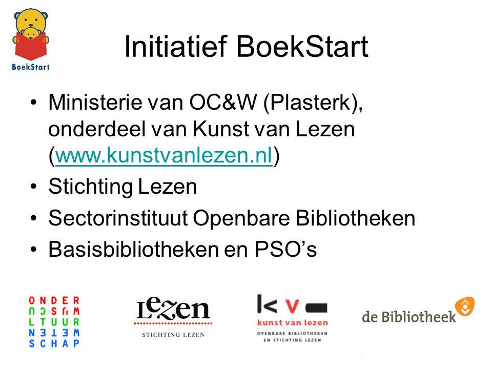 Initiatief BoekStart Ministerie van OC&W (Plasterk), onderdeel van Kunst van Lezen (www.kunstvanlezen.nl)