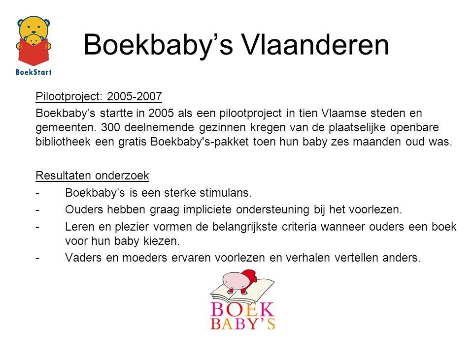 Boekbaby's Vlaanderen
