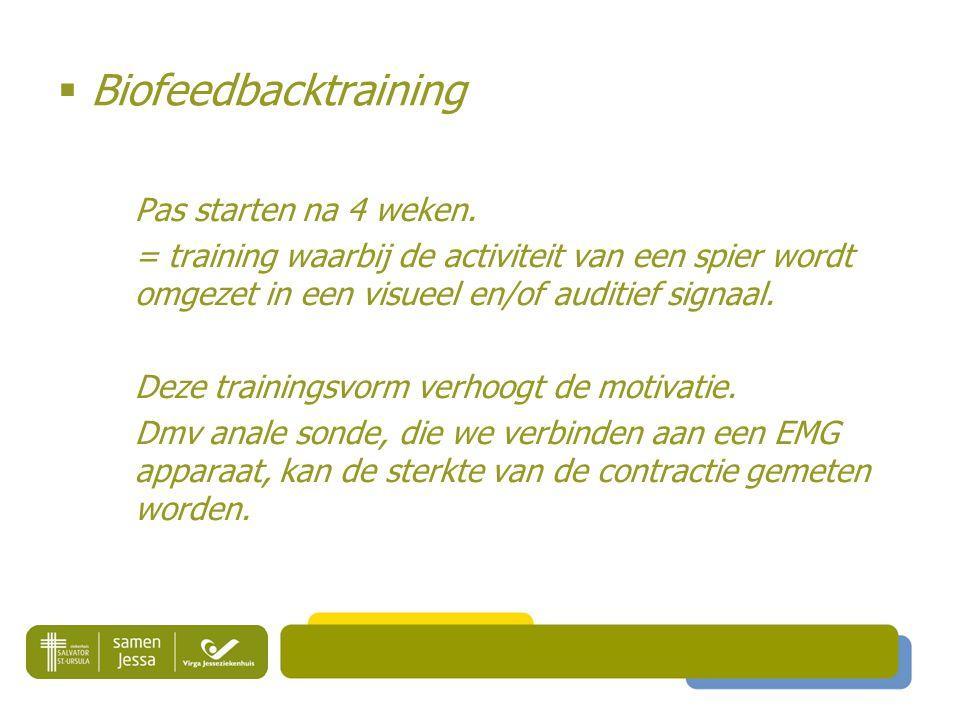  Biofeedbacktraining