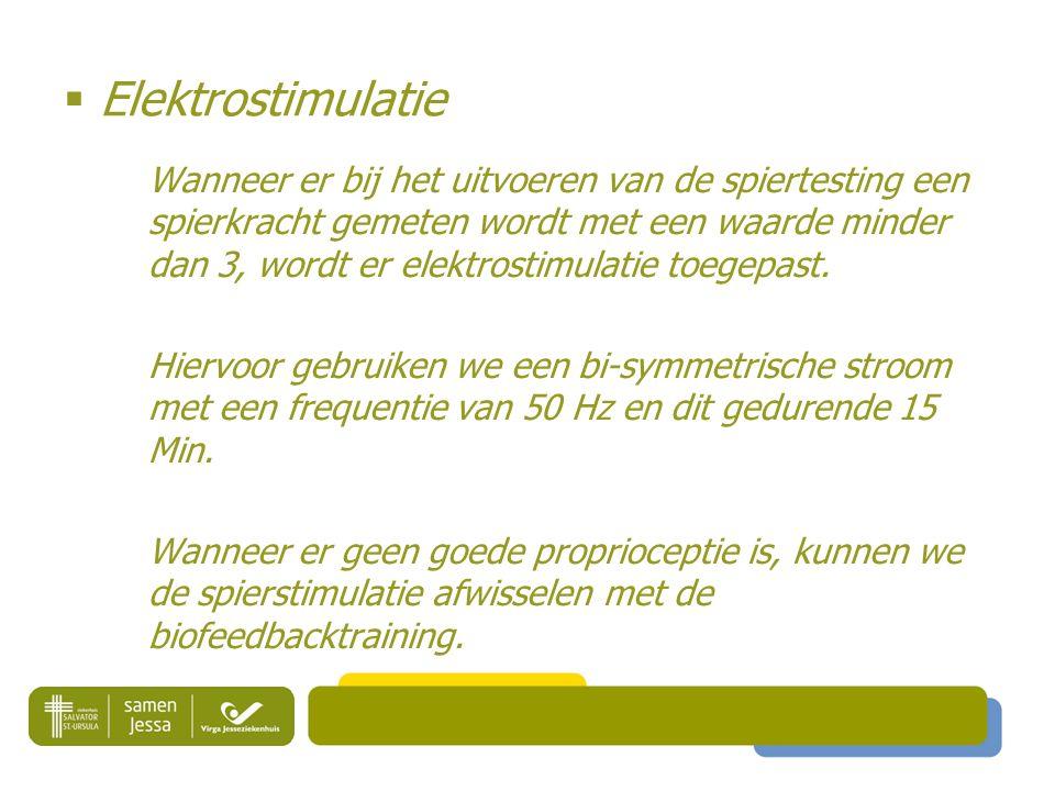  Elektrostimulatie