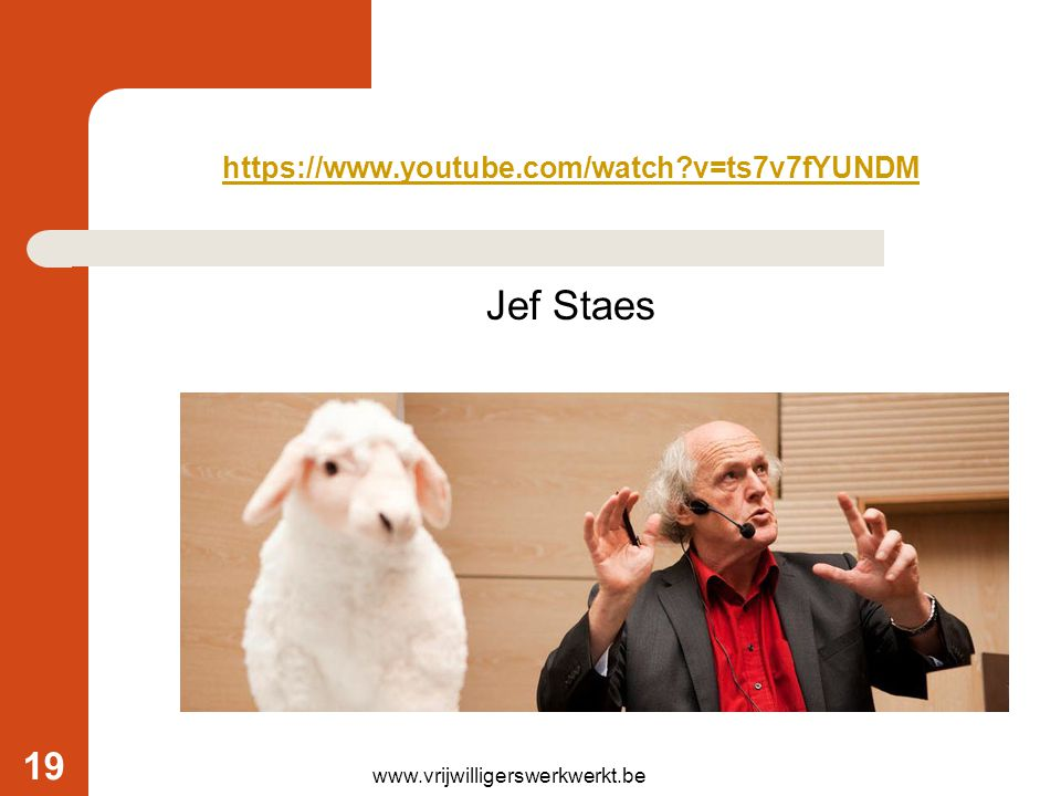 Jef Staes https://www.youtube.com/watch v=ts7v7fYUNDM
