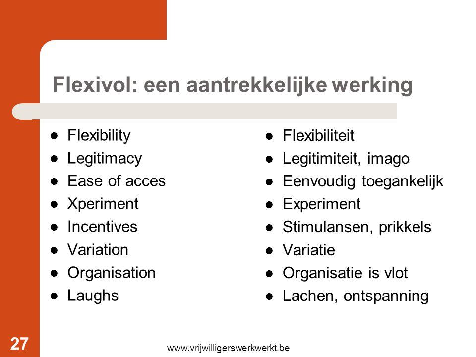 Flexivol: een aantrekkelijke werking