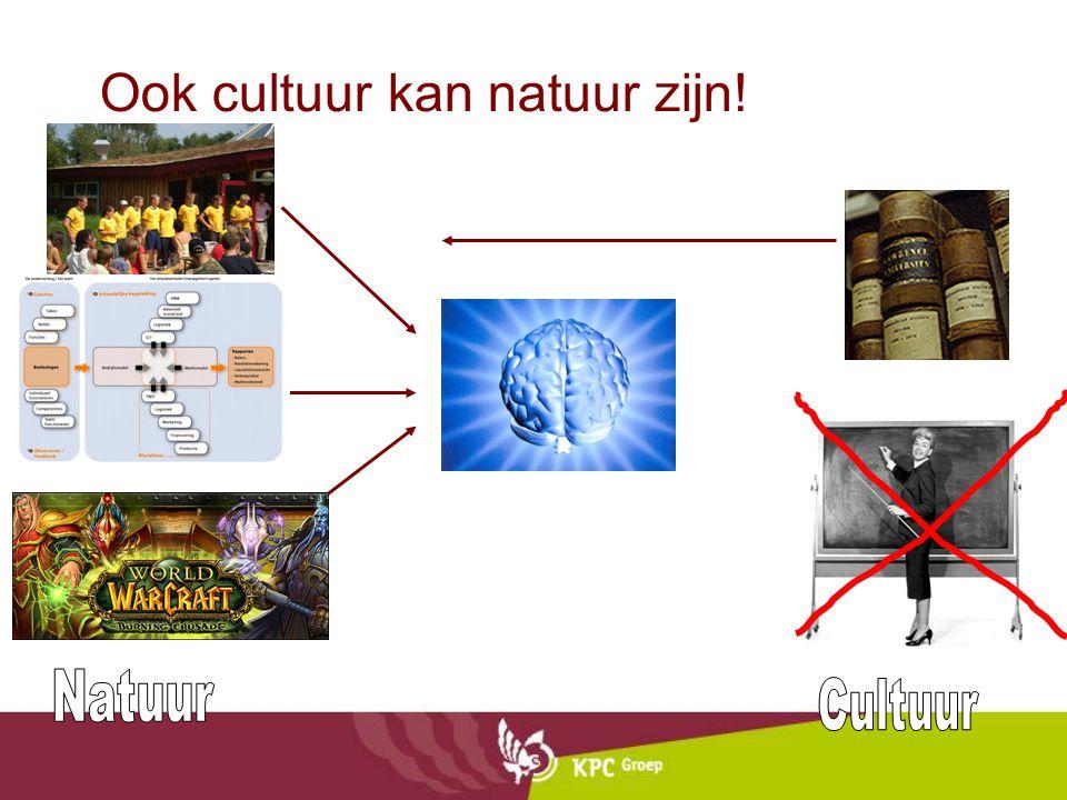 Ook cultuur kan natuur zijn!