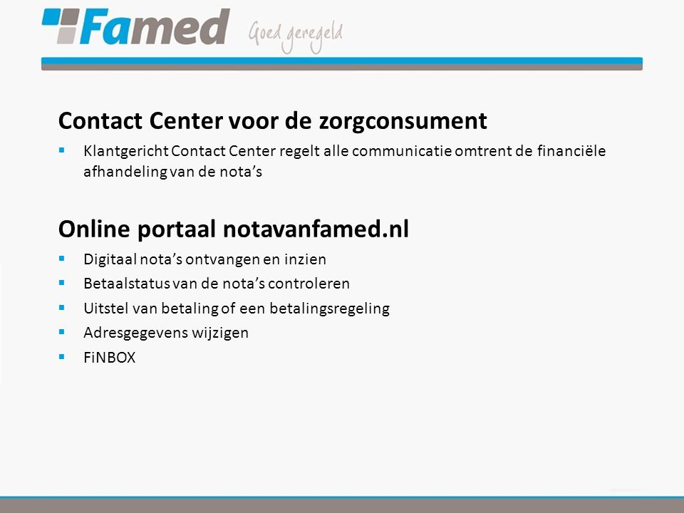 Contact Center voor de zorgconsument