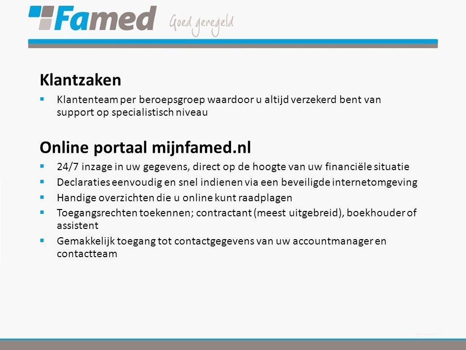 Online portaal mijnfamed.nl