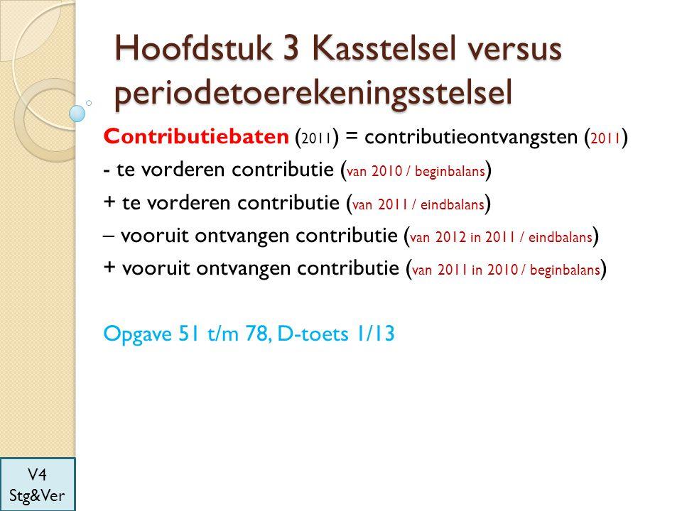 Hoofdstuk 3 Kasstelsel versus periodetoerekeningsstelsel