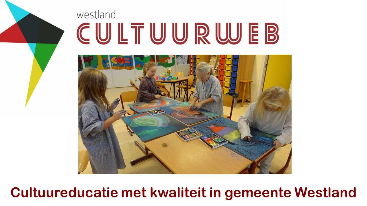 Cultuureducatie met kwaliteit in gemeente Westland
