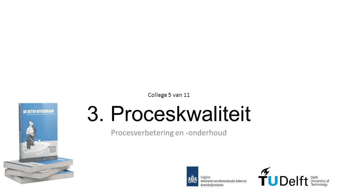 Procesverbetering en -onderhoud