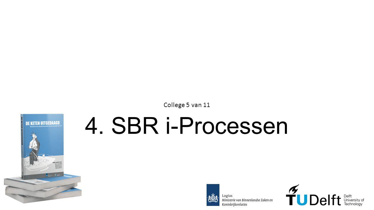 4. SBR i-Processen College 5 van 11