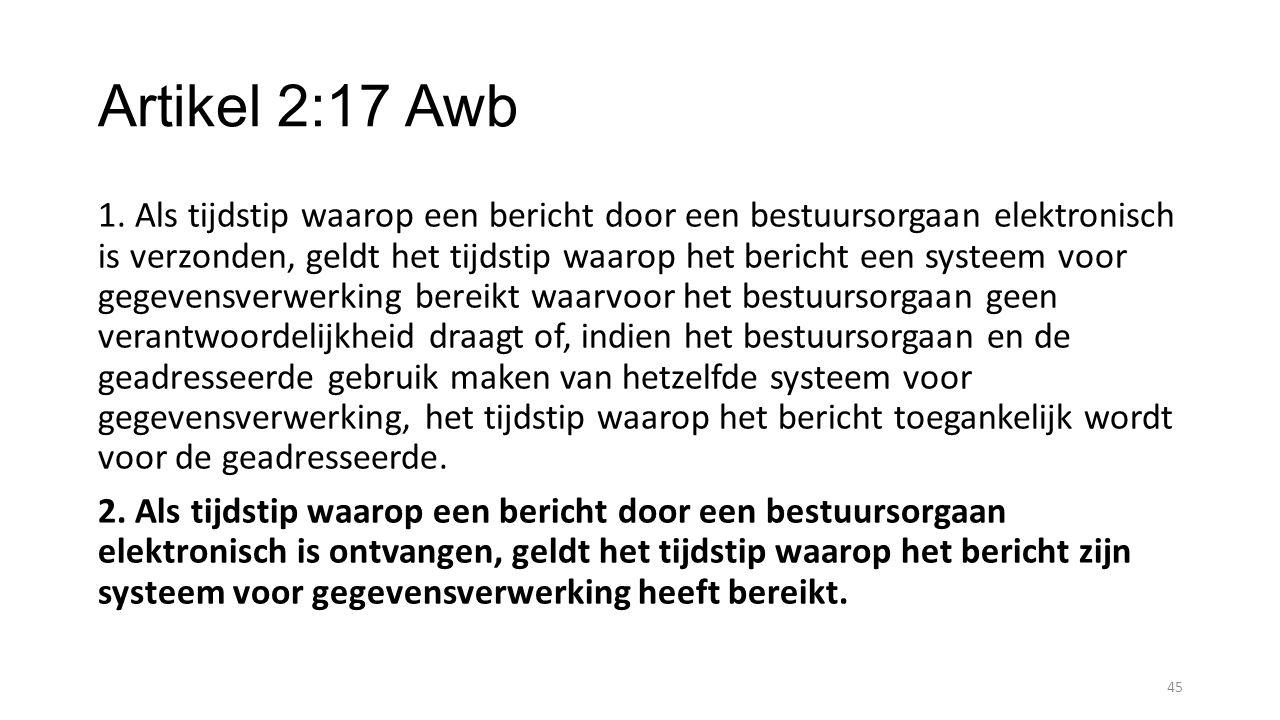 Artikel 2:17 Awb
