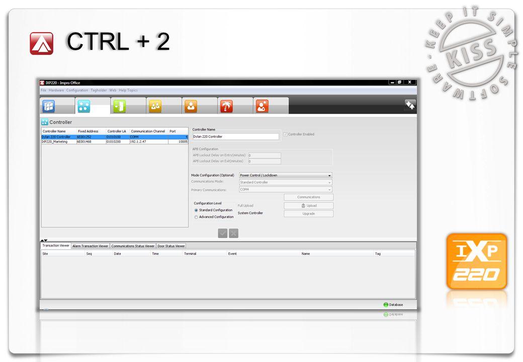 CTRL + 2