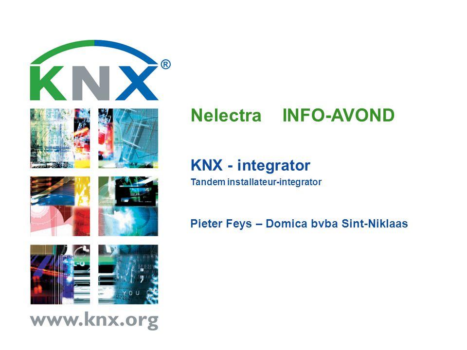 Nelectra INFO-AVOND KNX - integrator