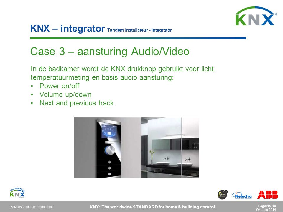Case 3 – aansturing Audio/Video