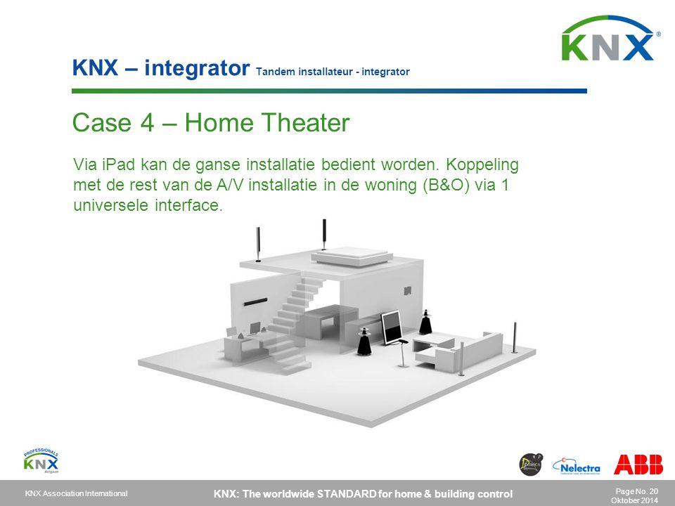 KNX – integrator Tandem installateur - integrator