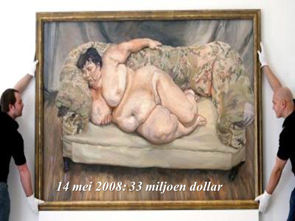 14 mei 2008: 33 miljoen dollar