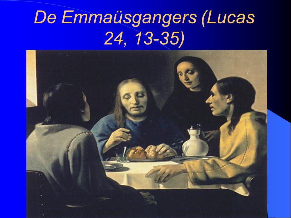 De Emmaüsgangers (Lucas 24, 13-35)