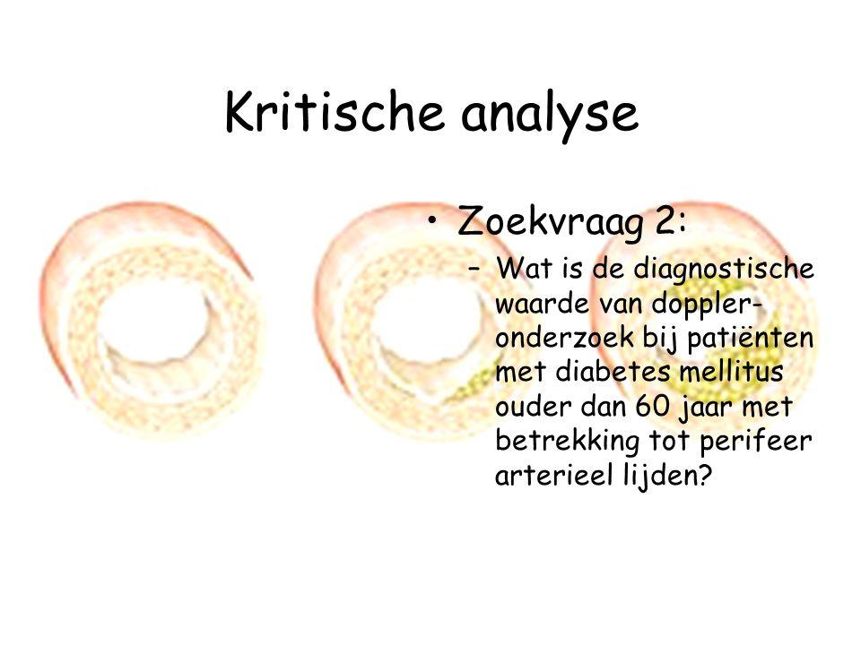 Kritische analyse Zoekvraag 2: