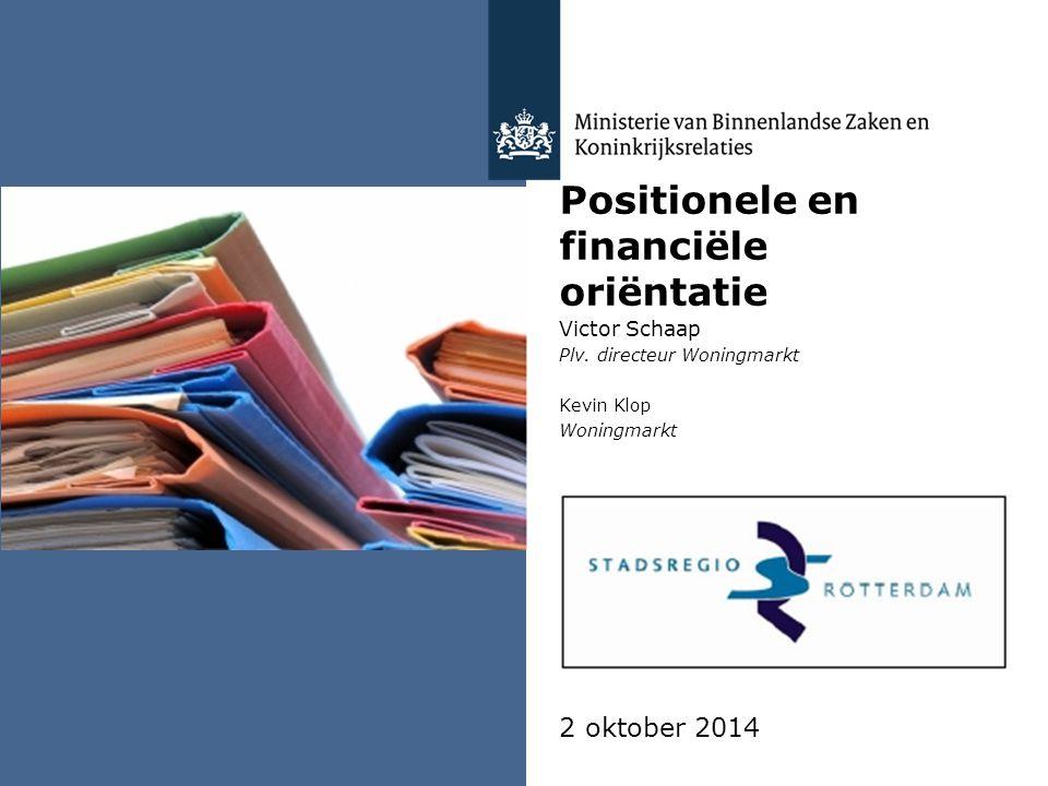 Positionele en financiële oriëntatie