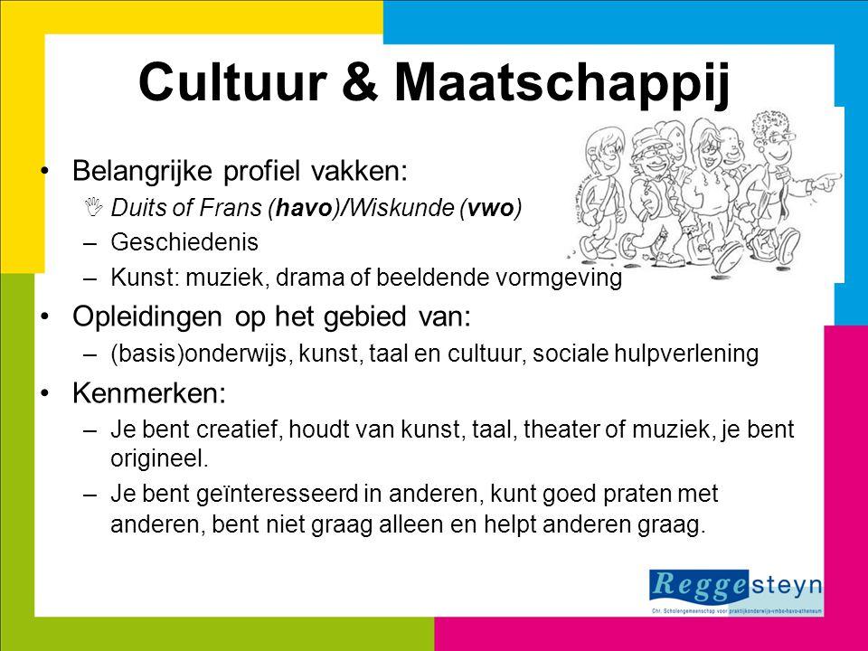 Cultuur & Maatschappij