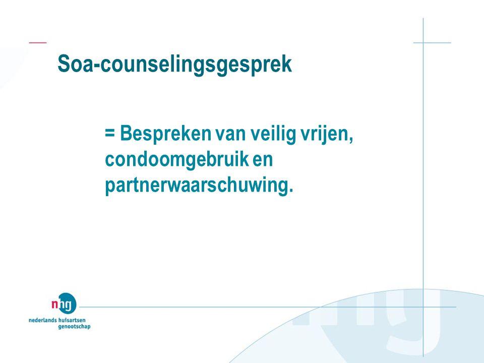 Soa-counselingsgesprek