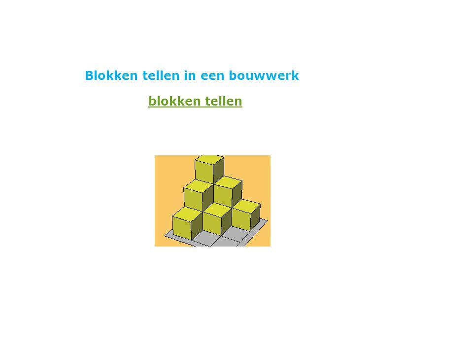 Blokken tellen in een bouwwerk