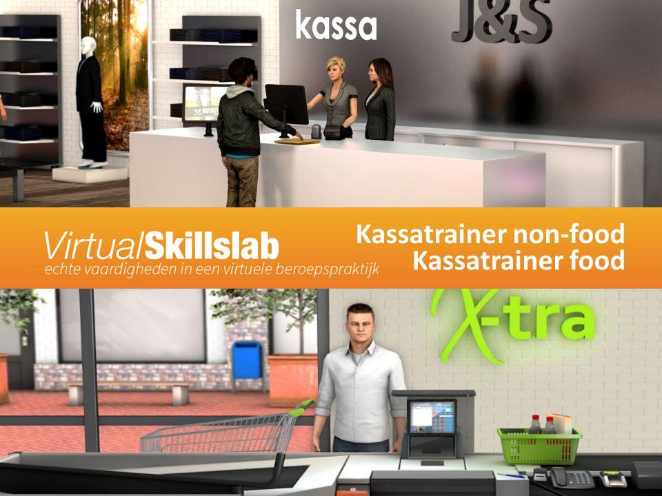 Kassatrainer non-food