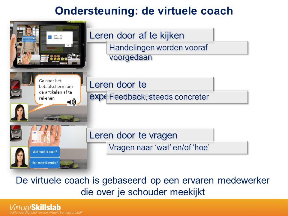 Ondersteuning: de virtuele coach