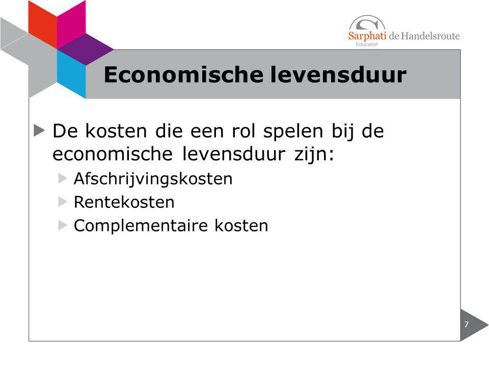 Economische levensduur