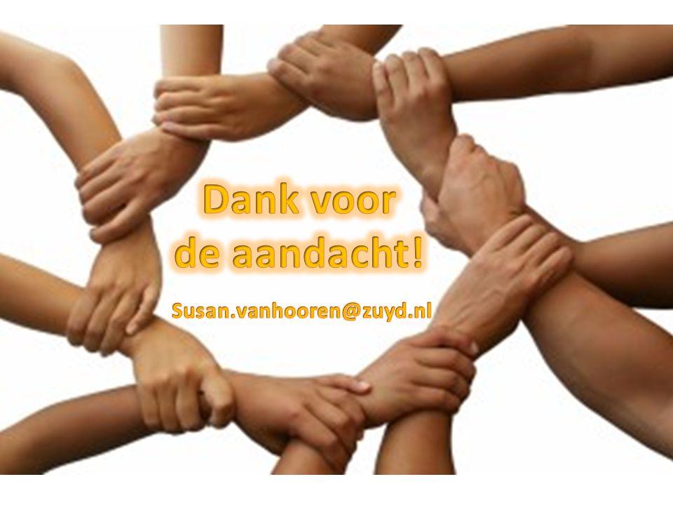 Dank voor de aandacht! Susan.vanhooren@zuyd.nl