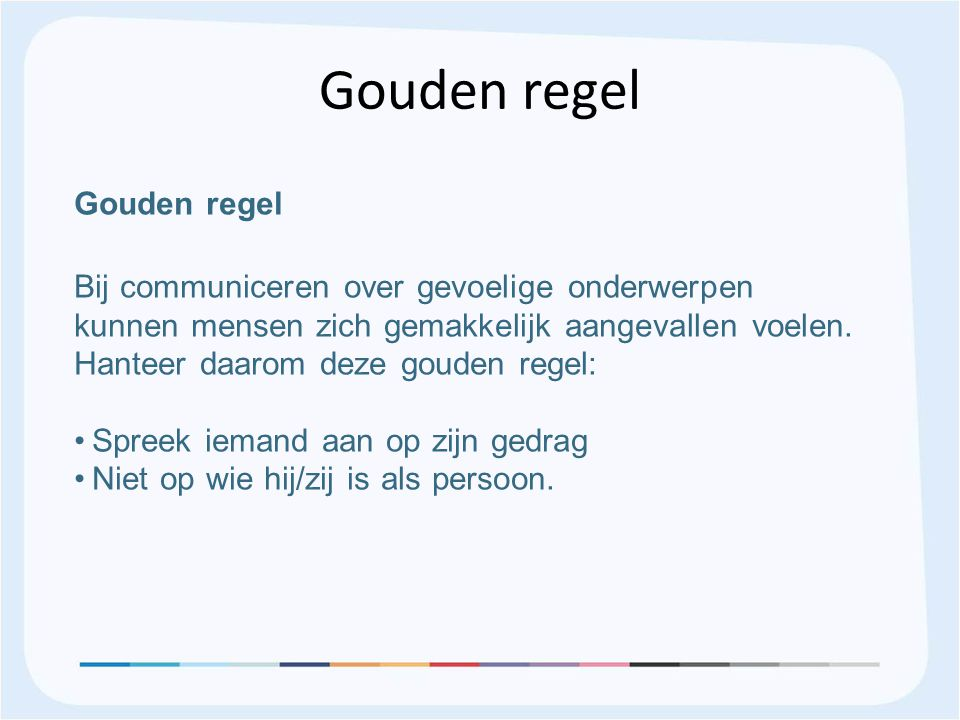 Gouden regel Gouden regel