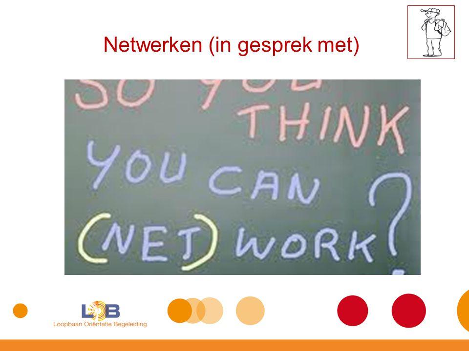 Netwerken (in gesprek met)