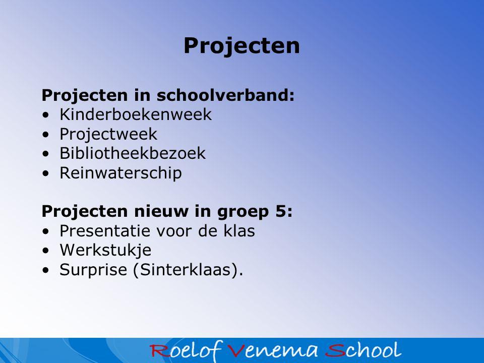 Projecten Projecten in schoolverband: Kinderboekenweek Projectweek