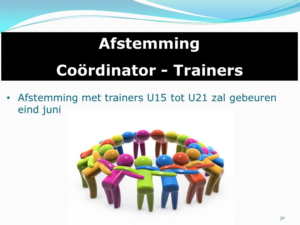 Coördinator - Trainers