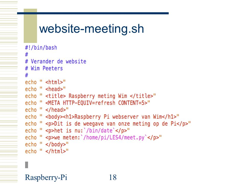 website-meeting.sh Raspberry-Pi
