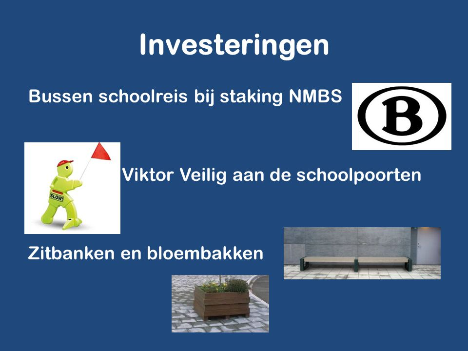 Investeringen Bussen schoolreis bij staking NMBS