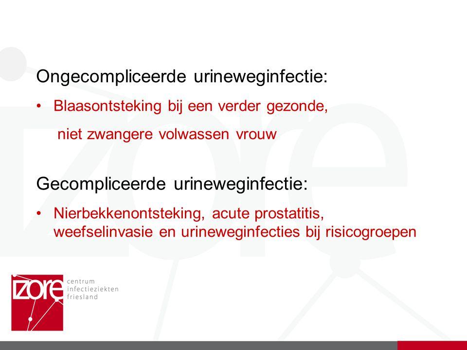 Ongecompliceerde urineweginfectie: