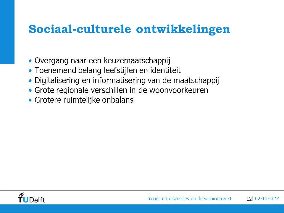 Sociaal-culturele ontwikkelingen