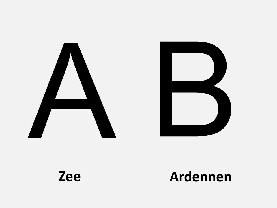 A B Zee Ardennen