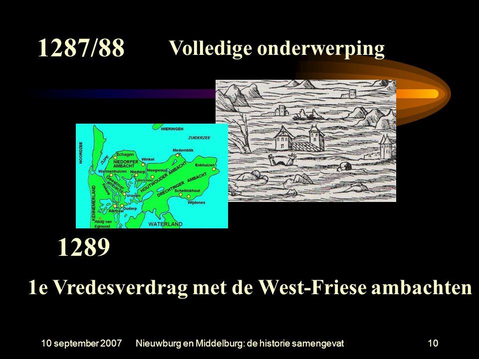 1e Vredesverdrag met de West-Friese ambachten