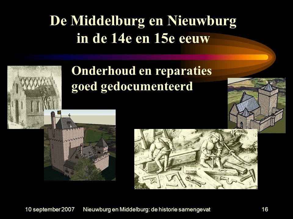 De Middelburg en Nieuwburg