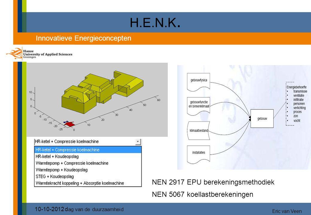 H.E.N.K. 3333 Innovatieve Energieconcepten