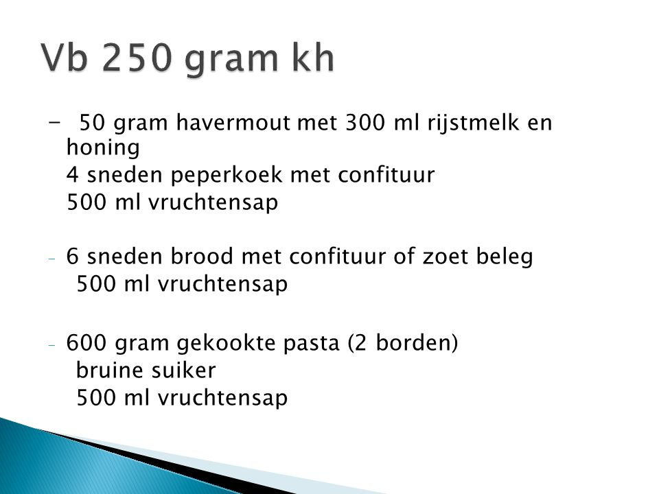 Vb 250 gram kh - 50 gram havermout met 300 ml rijstmelk en honing