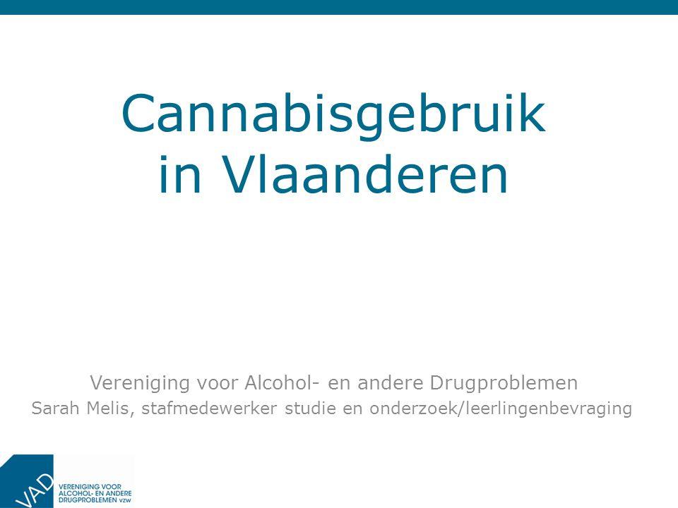 Cannabisgebruik in Vlaanderen