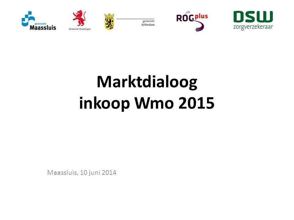 Marktdialoog inkoop Wmo 2015