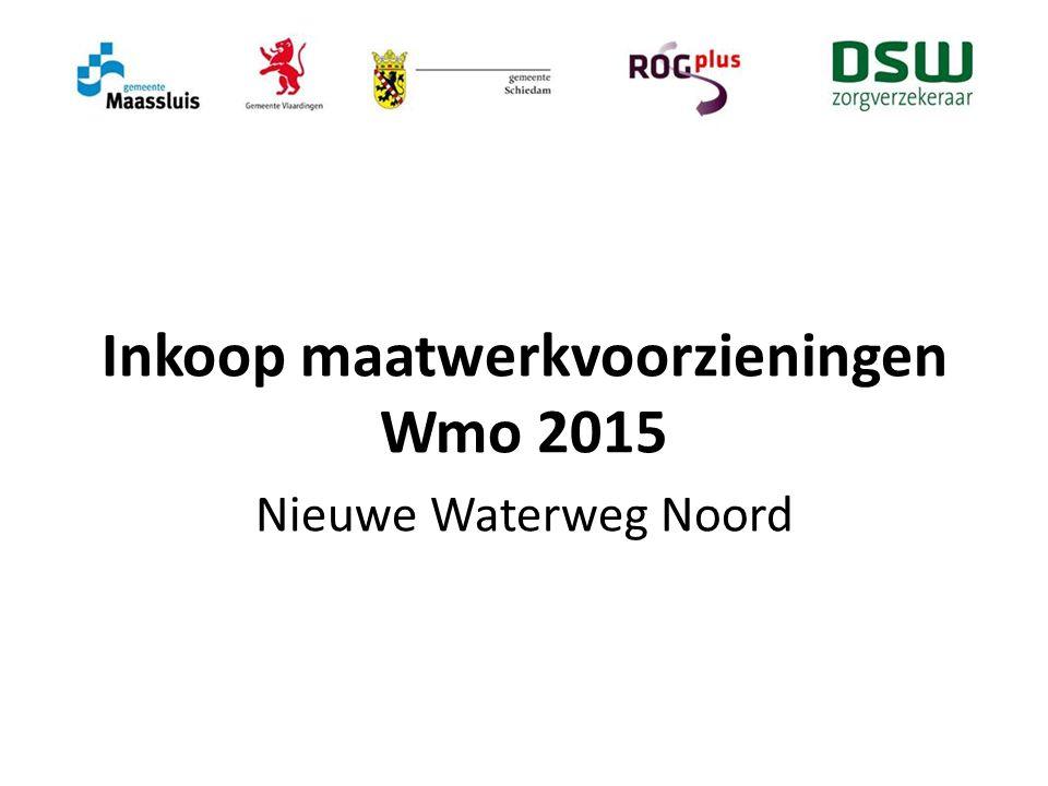 Inkoop maatwerkvoorzieningen Wmo 2015
