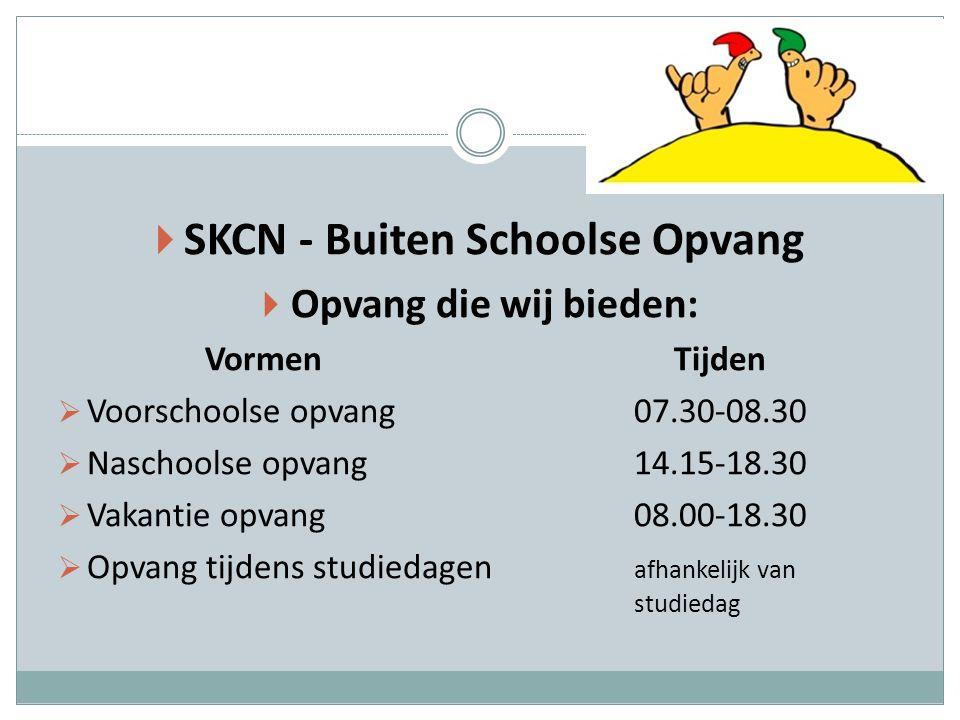 SKCN - Buiten Schoolse Opvang